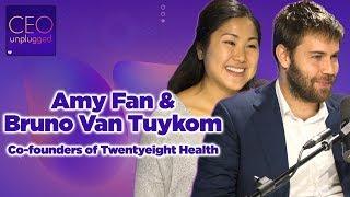 Amy Fan &  Bruno Van Tuykom of Twentyeight Health | CEO Unplugged