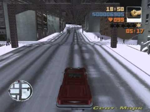 GTA3 мод Sonw Cite 1 серия