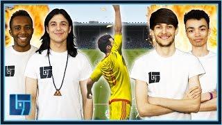 Waglington & Blackpanthaa VS Mantrousse & FIFAMonstah - FIFA 16: 2v2 | Legends of Gaming