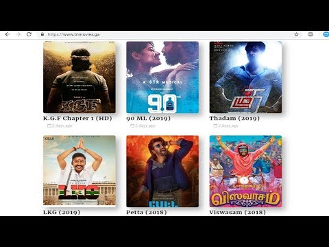 How To Download Tamil Movies - 2019