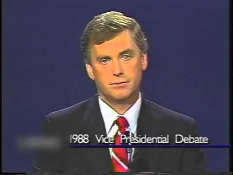 1988 Vice Presidential Debate - Dan Quayle & Lloyd Bentsen
