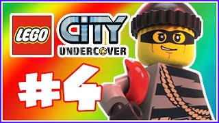 Let's Play Lego City Undercover The Chase Begins Part 4: Undercover in Action