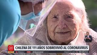 Increíble: Chilena de 111 años sobrevivió al coronavirus