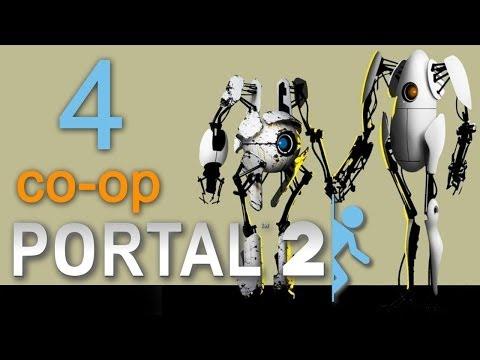 Portal 2 co-op - Прохождение игры на русском - Кооператив [#3]