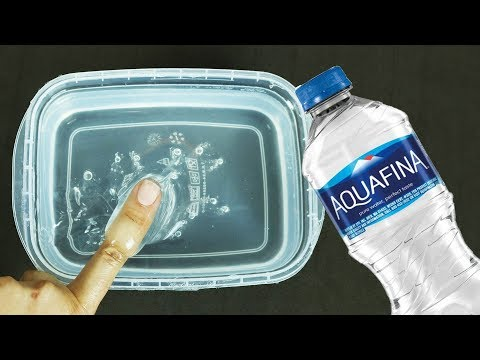 WATER SLIME! How to Make Crystal Clear Water Slime without Glue! Funny Slime Videos