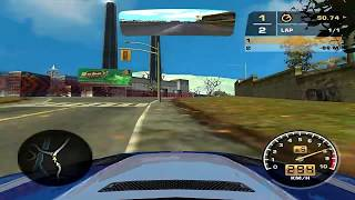 NFS MW Omega 1st Lap Online BMW Salvathore vs. TBR@X-Man*