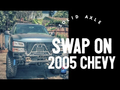 MG #102 - Solid Axle Swap on a Chevy 1500  Part I