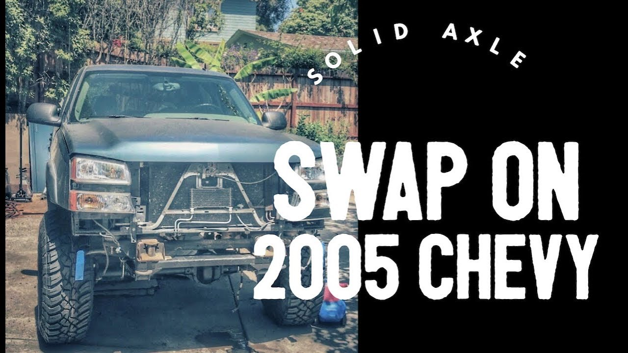 2000 Chevy 1500 Solid Axle Swap 98Up Chevy SAS kit for 9904 Ford