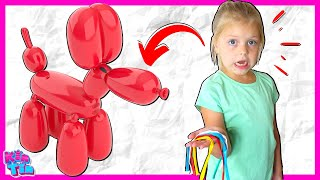 Kin Tin Pet BALLOON DOG Comes to Life! You've Never Met a Puppy Pet Like Squeakee!!