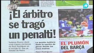La afición perica indignada con la prensa deportiva catalana por el trato al Español