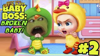 Pear Forced to Play - BABY BOSS #2: Broken Baby!