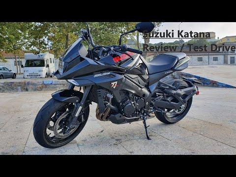 Suzuki Katana Review / Test Drive