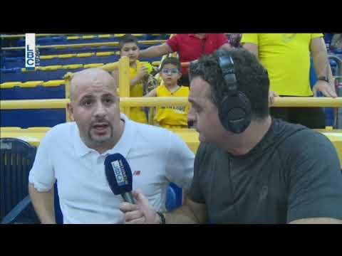 Riyadi vs Beirut - Interview Coach Ahmad Farran
