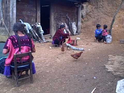 Chiapas, Mexico - Weaving and daily life in highland Chiapas, Mexico