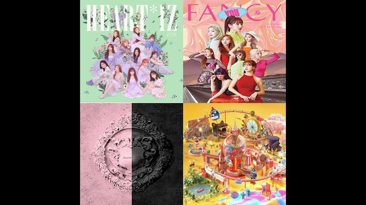[TOP 15] Hanteo Album Sales for Kpop Girl Group in 2019 (June/Week 4)