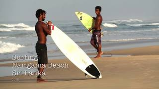 Surfing Reef Break I Narigama Hikkaduwa I Sri Lanka 2018