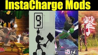 InstaCharge Mod Pack - LET CHAOS HAPPEN in Super Smash Bros Wii U (Smash 4 Mods)