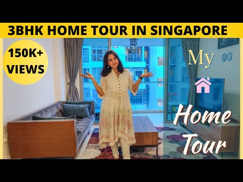 My Home Tour| Our Home in Singapore| 3BHK apartment in Singapore|வீட்டை சுற்றி பார்க்கலாம் வாங்க!!