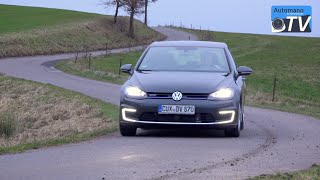 2015 VW Golf 7 GTE (204hp) - DRIVE & SOUND (1080p)