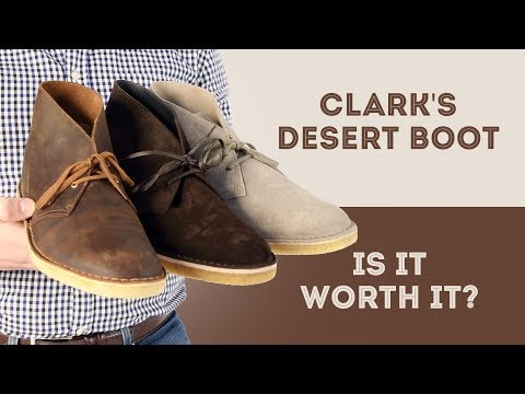 Clarks Desert Boots Review - Is it Worth It Series - Suede vs. Leather Chukka Boots