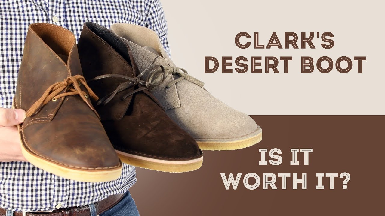 b3e85cf5a238f4 Clarks Desert Boots Review - Is it Worth It Series - Suede vs ...