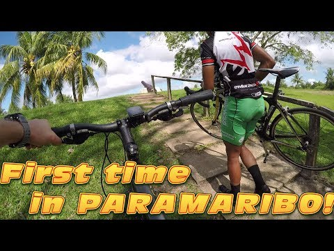 I HAD TO IMPROVISE IN PARAMARIBO - #cycling Suriname
