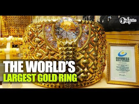 World's Largest Gold Ring At Dubai Gold Souk | Curly Tales