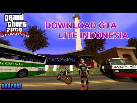GTA SA LITE INDONESIA ANDROID V6 NEW VERSION - Suport Nougat Mp3