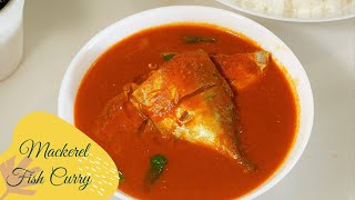 Mackerel Fish Curry Recipe