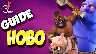 HoBo Hog Bowler Attack Strategy | 3 Minute Guide | Clash of Clans