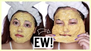 """Must Have """"REAL"""" Gold Masks ♡ Demo & Review"""