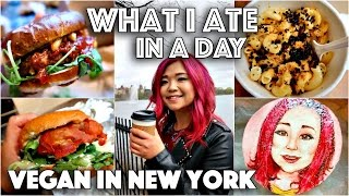VEGAN FAST FOOD IN NEW YORK (What I Ate in a Day in NYC #2)
