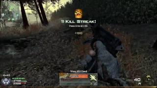 Call of Duty 6 : Modern Warfare 2 - TDM - Wasteland Gameplay - AC130 Ownage [ 37-2-3 ][ PC ][ HD ]