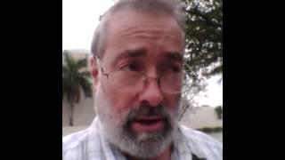 El Rebe reprendió un jasid conocido en Brazil