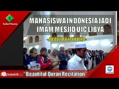 Imam Masjid UIC Libya Abdul Ba'its Abiyd | KKMI Libya