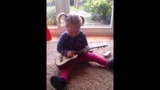 Mijn meissie speelt gitaar