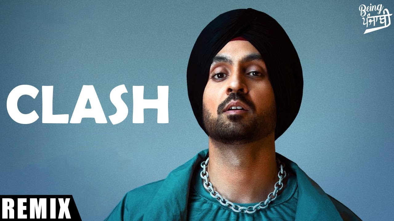 "Clash - Diljit Dosanjh (REMIX) | From ""G.O.A.T. Album 