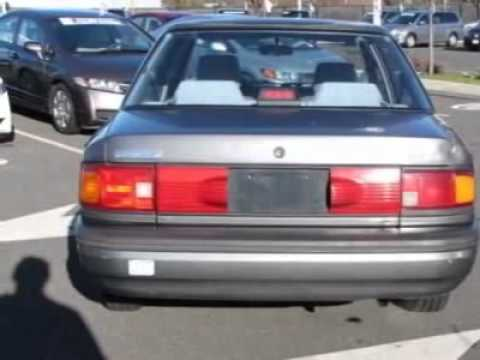 1994 mazda protege 4dr sedan dx sedan danbury ct youtube. Black Bedroom Furniture Sets. Home Design Ideas