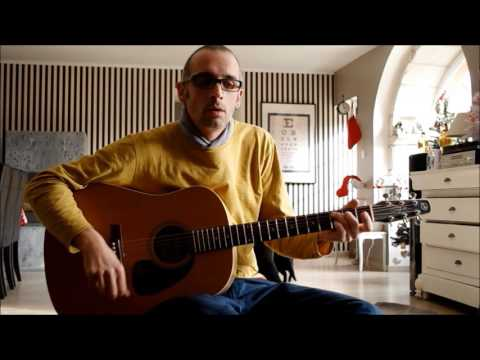 la javanaise - cours (Tuto) guitare fingerpicking - Serge Gainsbourg