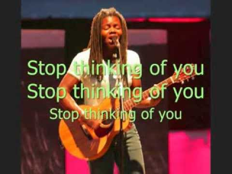 Kopi af Tracy Chapman - Thinking of you with lyrics on screen