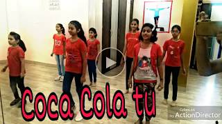 Coca cola tu - Tony kakkar ft. Young Desi || Kids Dance choreography.