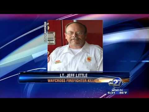 Firefighter in Waycross, Georgia dies in line of duty