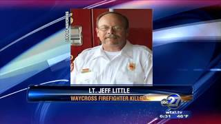 Firefighter in Waycross, Georgia dies in line of duty