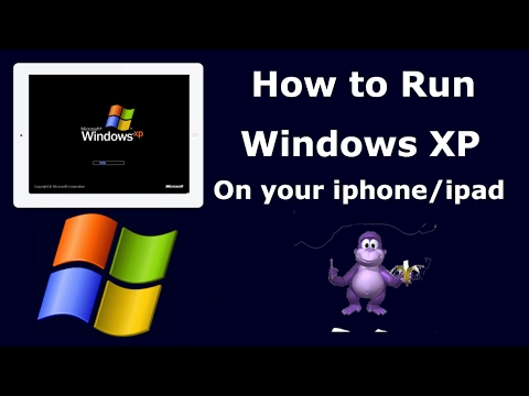 Windows XP on ios 10(No computer)(Jailbreak)