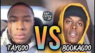 Tay600 VS Booka600: Twitter Beef