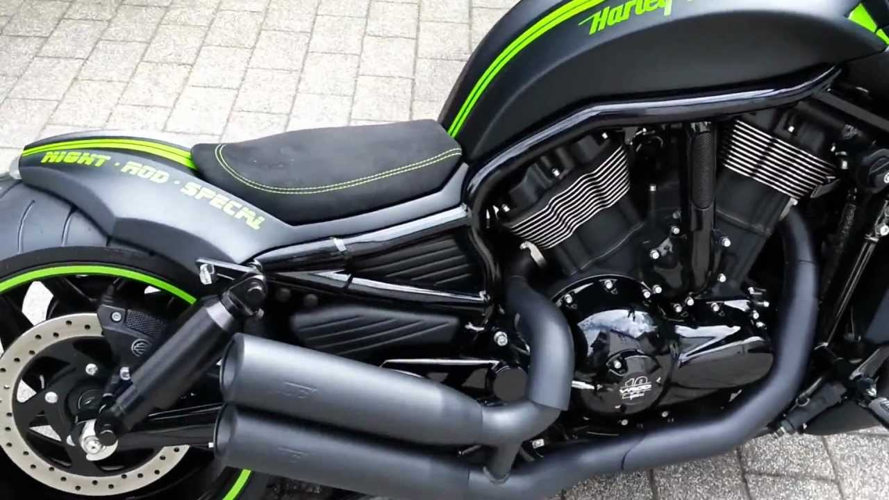 Harley Davidson Night Rod 2012: Harley Davidson Night Rod Special 2012 With 280 Rear Wheel