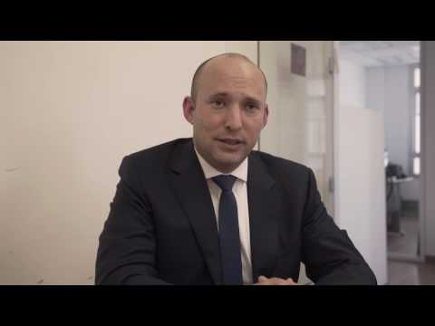 MK Naftali Bennett speaks about West Bank status, US embassy