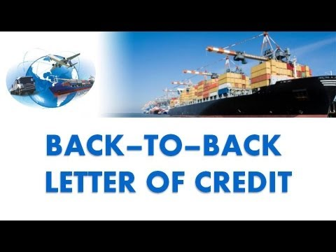 Back to Back Letter of Credit | Part III