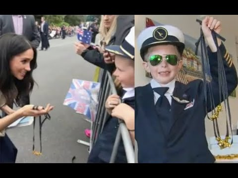 Boy makes Meghan Markle macaroni necklace, now receiving jewelry orders from around the world