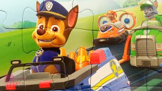 Щенячий Патруль - Гончик и щенки спасатели - Собираем пазлы для детей Paw Patrol | Merry Nika